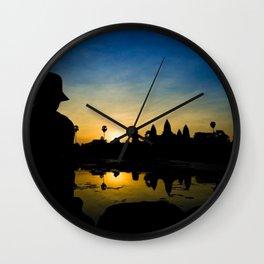 Cambodia: A New Hope Wall Clock