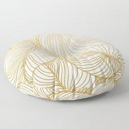 Wilderness Gold Floor Pillow