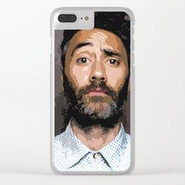 Taika Waititi 7 Clear iPhone Case