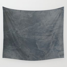 Slate Gray Stucco - Faux Finishes - Rustic Glam - Corbin Henry Venetian Plaster Wall Tapestry