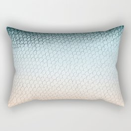 Mermaid fish scales Rectangular Pillow