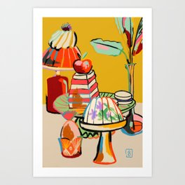 SWEET TOOTH  Art Print
