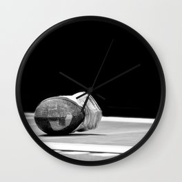 Fencing #02 Wall Clock