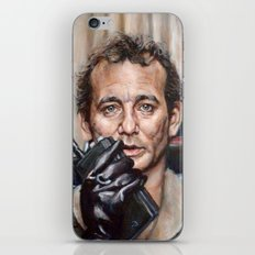 Bill Murray / Ghostbusters / Peter Venkman / Close-Up iPhone & iPod Skin