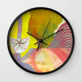 Cotton Candy Wall Clock