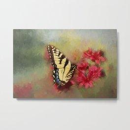Spring Swallowtail Metal Print
