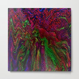 Shocking Metal Print