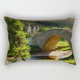 Cairngorms Natural Park, in the heart of the Scottish Highlands Rectangular Pillow