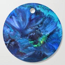 Blue Anemone Cutting Board