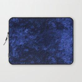 Royal blue navy velvet Laptop Sleeve