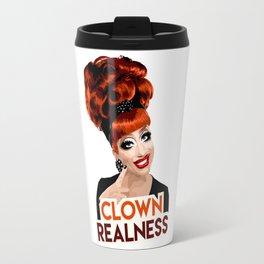 """Clown Realness"" Bianca Del Rio, RuPaul's Drag Race Queen Travel Mug"