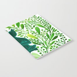 Garden Zen Yoga Cat Notebook