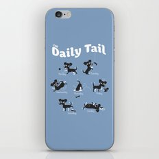 The Daily Tail Dog iPhone & iPod Skin