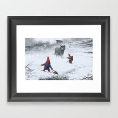 furry demon Framed Art Print