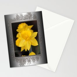 Trumpet Daffodil named Exception Stationery Cards