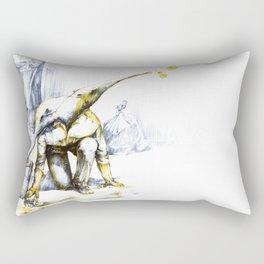 Two-faced anteater Rectangular Pillow