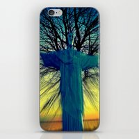 jesus iPhone & iPod Skins featuring jesus by  Agostino Lo Coco