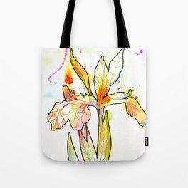 Queen Flower Tote Bag