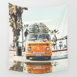 Surfing Day 3 Wall Tapestry