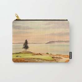 Chambers Bay Golf Course 15th Hole Carry-All Pouch