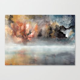 Raging clouds Canvas Print
