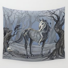 Helhest Three Legged Horse Wall Tapestry