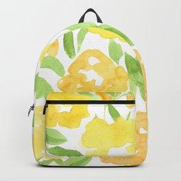 Yellow Summer Bouquet Backpack