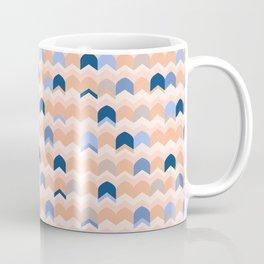 Peach Arrow ZigZag Coffee Mug
