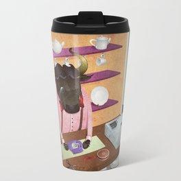 A-Z Animal, Bull Sales Person - Illustration Travel Mug