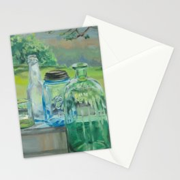 Bottle Still-Life Stationery Cards
