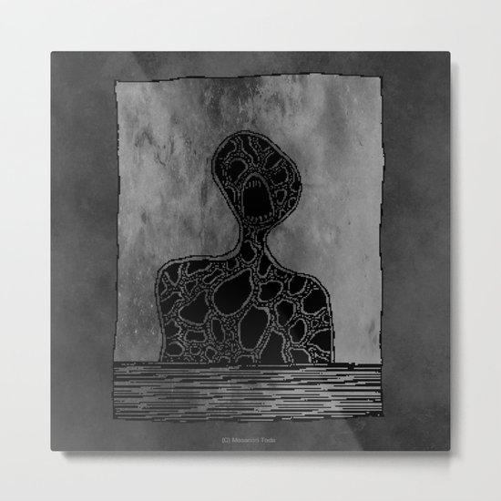 Magma Giant Metal Print