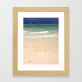 Paje Sands Framed Art Print