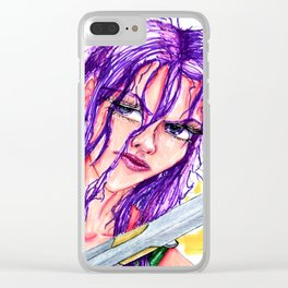 Halie the Nereid Clear iPhone Case