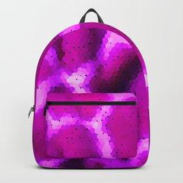 Abstract Pink Giraffe Pattern Artwork Backpack