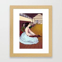 Giseng Framed Art Print