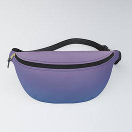 Ultra Violet Blue Lilac Ombre Gradient Pattern Fanny Pack