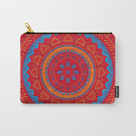 Hippie mandala 59 Carry-All Pouch