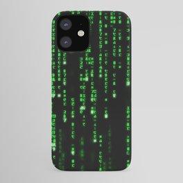 Matrix Binary Code iPhone Case