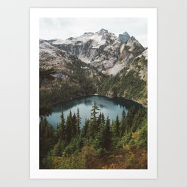 Alpine View in the North Cascades Art Print