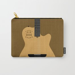 Acoustic Guitar Illustration Carry-All Pouch