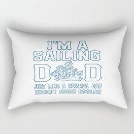 Sailing Dad Rectangular Pillow