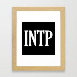 INTP Framed Art Print