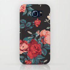 Vintage Flowers Slim Case Galaxy S7
