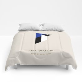 Tree Swallow Comforters