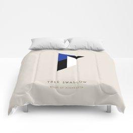 Tree Swallow Comforters