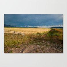 Star Valley Field Canvas Print