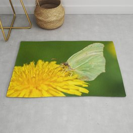 Brimstone Butterfly Rug