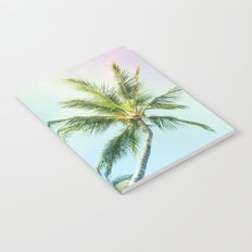 Relaxing Rainbow Color Palms Notebook