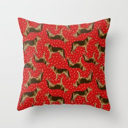 German shepherd Throw Pillow