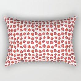 Fraises Rectangular Pillow